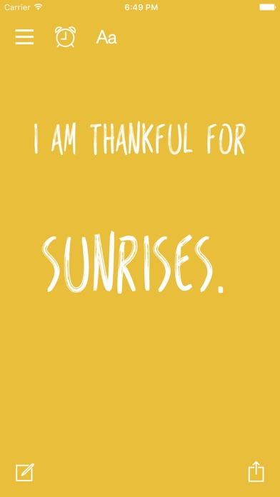 Thankful for - Gratitude Diary Screenshots