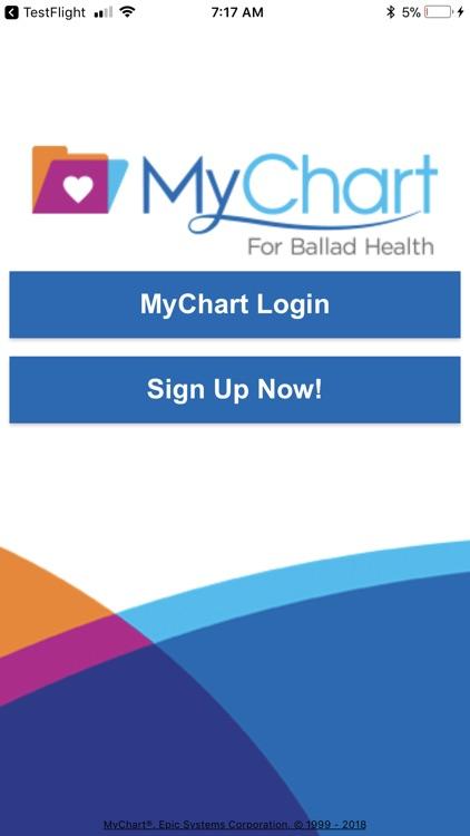 MyChart for Ballad Health