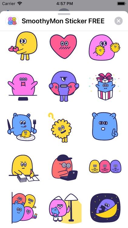 SmoothyMon Sticker Basic