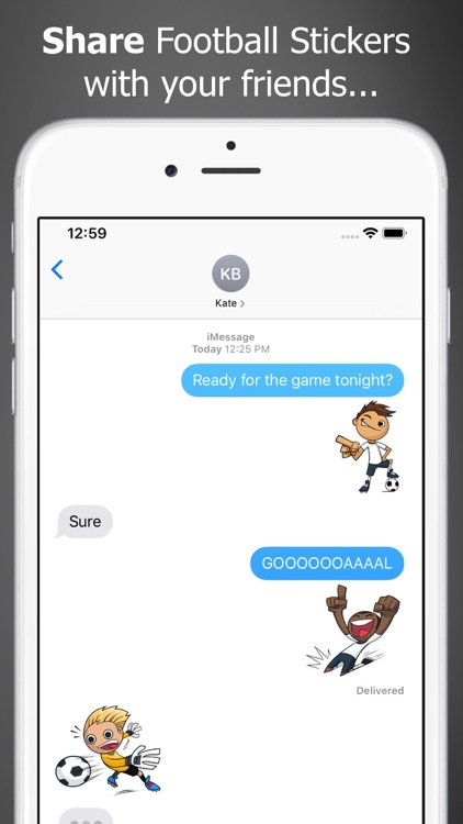 Just Football Stickers screenshot-0