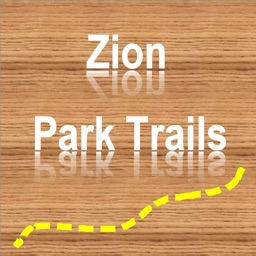 Zion NP Hiking Trails GPS