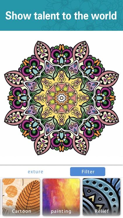 Colors-Recolor Book Colorfy screenshot-4