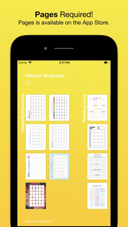 Planner Templates by Nobody screenshot-3
