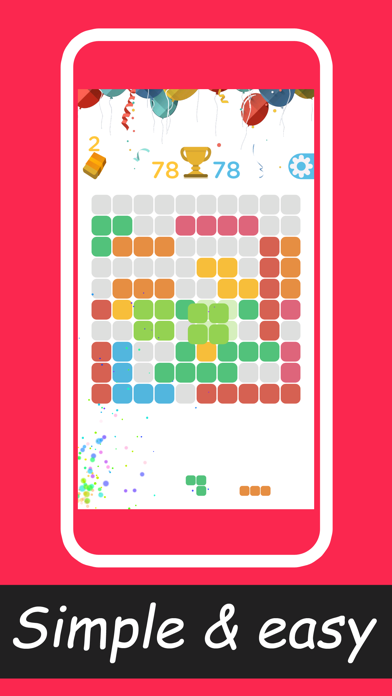 Checker1010+puzzle game screenshot two