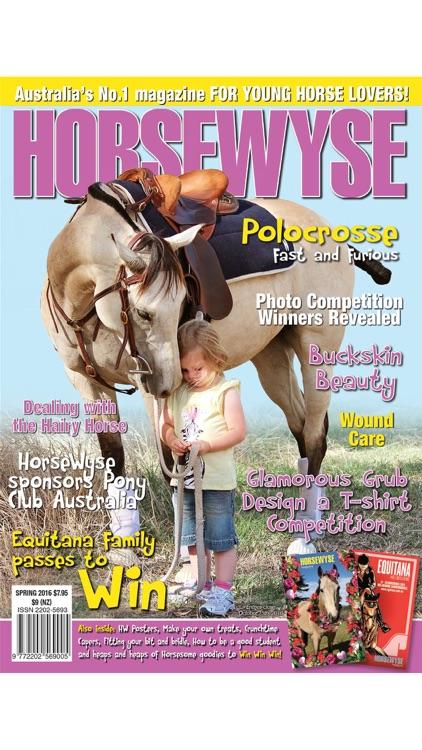 Horse Wyse Magazine - Australia's No.1 Horse Magazine for teen and tweens screenshot-3