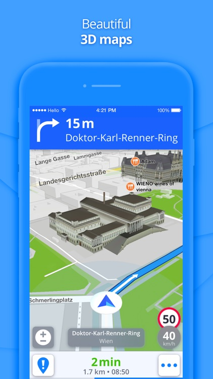 GPS Navigation & Maps screenshot-1