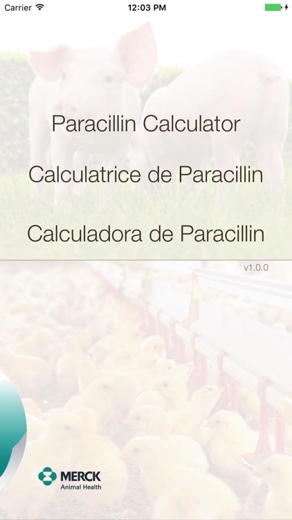 Paracillin Calculator by Intervet International B V