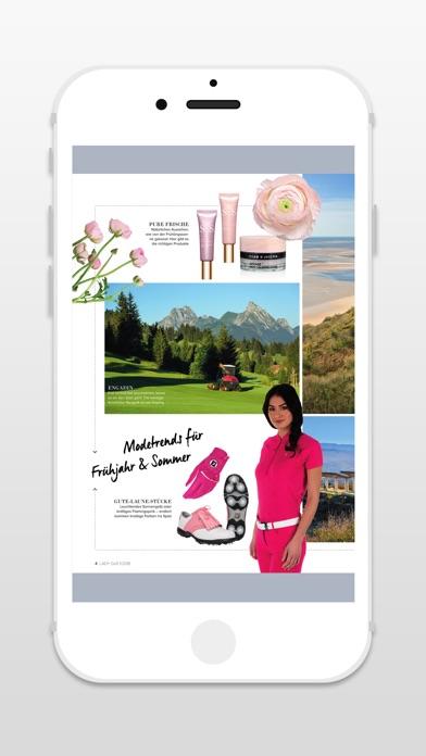LADY GOLF - ZeitschriftScreenshot von 4