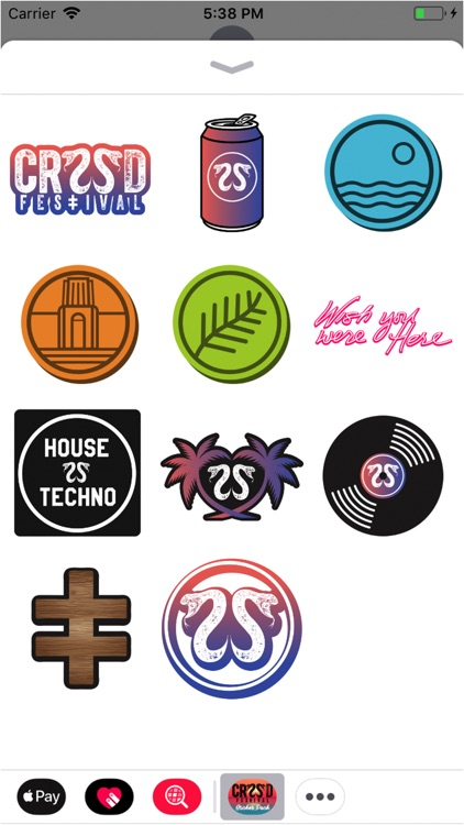 CRSSD Festival Sticker Pack