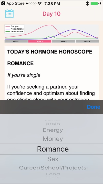 Hormone Horoscope Pro screenshot-3