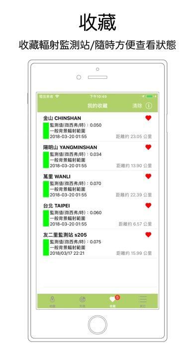 台灣環境輻射監測 screenshot 3