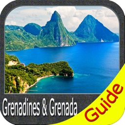 Grenadines & Grenada - GPS Map Navigator
