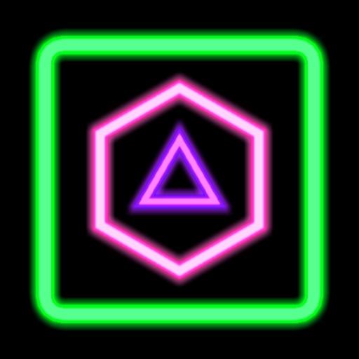 Neon Poly - Hexa Puzzle Blitz