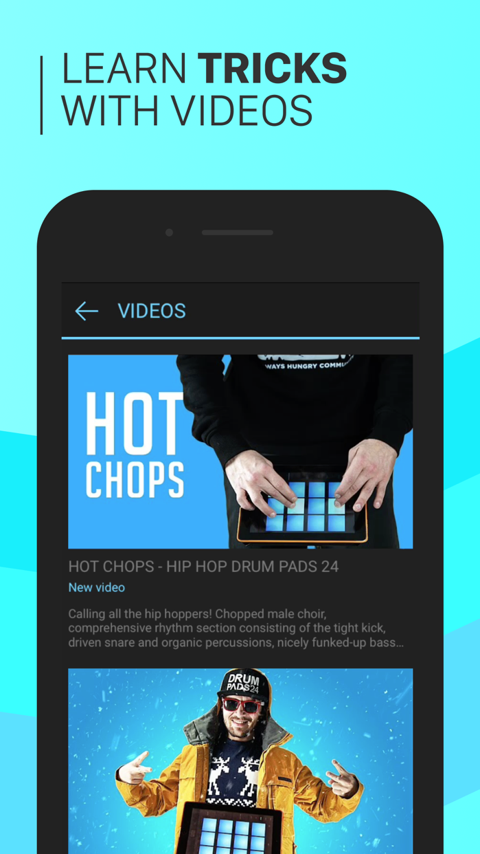 Hip-Hop Drum Pads 24 Screenshot