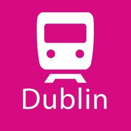 Dublin Rail Map Lite