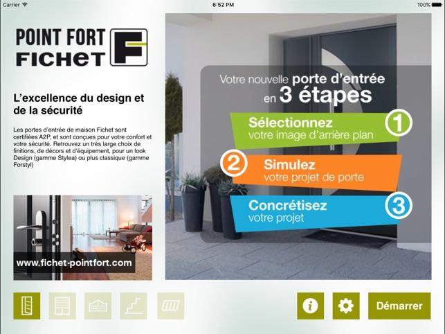 Maison point fort fichet dans l app store for Application construction maison ipad