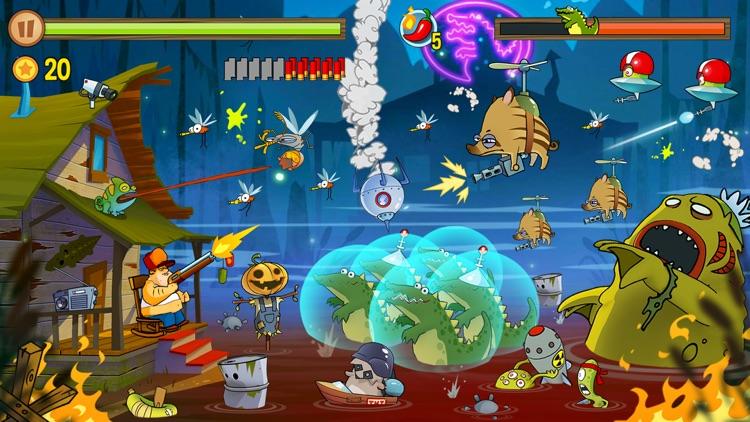 Swamp Attack screenshot-3