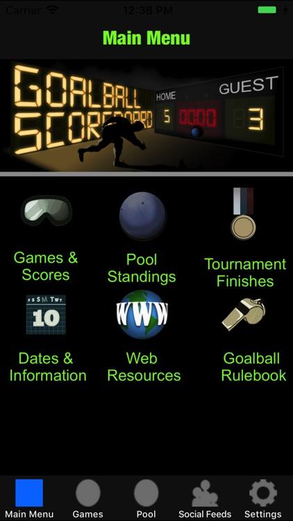 Goalball Scoreboard