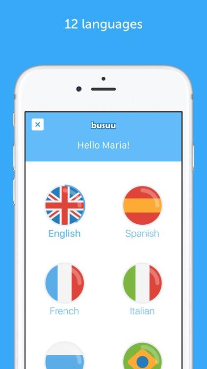 busuu - Learn Languages screenshot-0