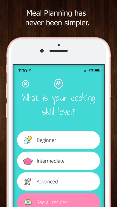 Master Meal Planner Screenshot