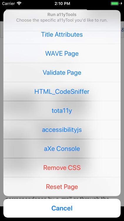 a11yTools - Web Accessibility screenshot-3