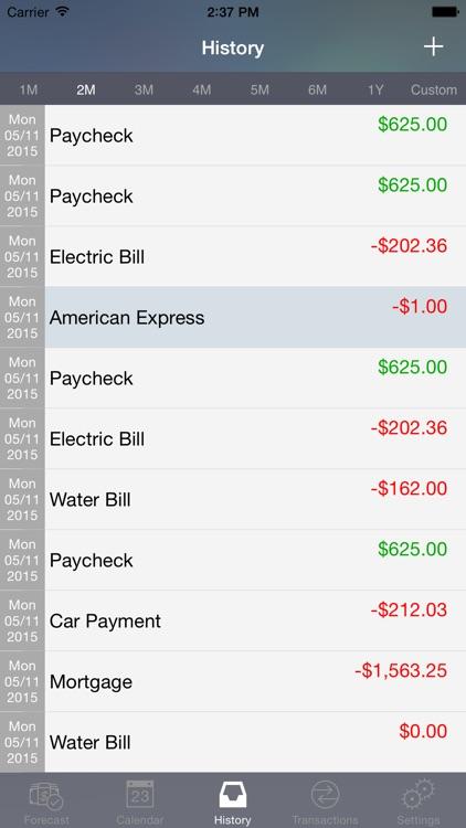 CashFlowCast: Expense Tracker screenshot-4