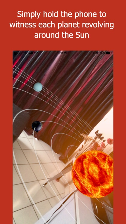 3D Solar System Explorer AR