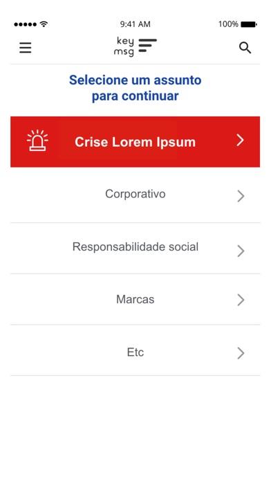 Screenshot for KeyMsg in Venezuela App Store