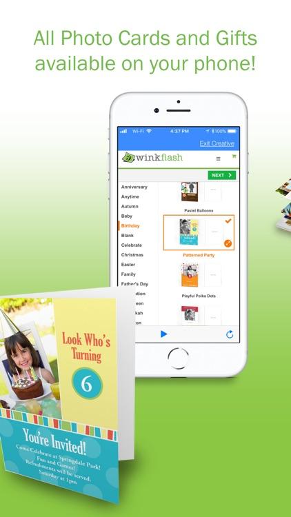 Winkflash: Photo Printing screenshot-3