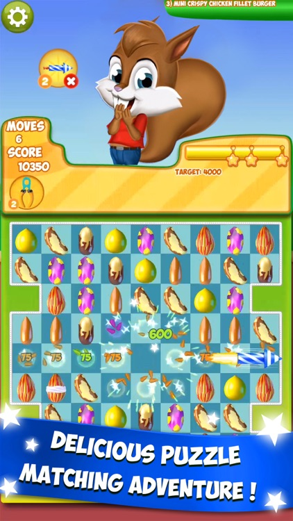 Nut Crunch: Puzzle Adventure! screenshot-0