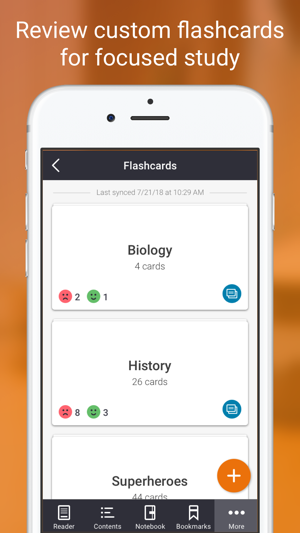 Elsevier ebooks on vitalsource on the app store screenshots fandeluxe Choice Image