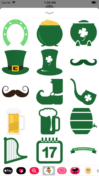 St. Patrick's Day Stickers!! screenshot-3