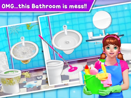 Baby Girl Home Cleaning screenshot 8