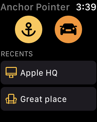 Screenshot #6 for Anchor Pointer Compass GPS