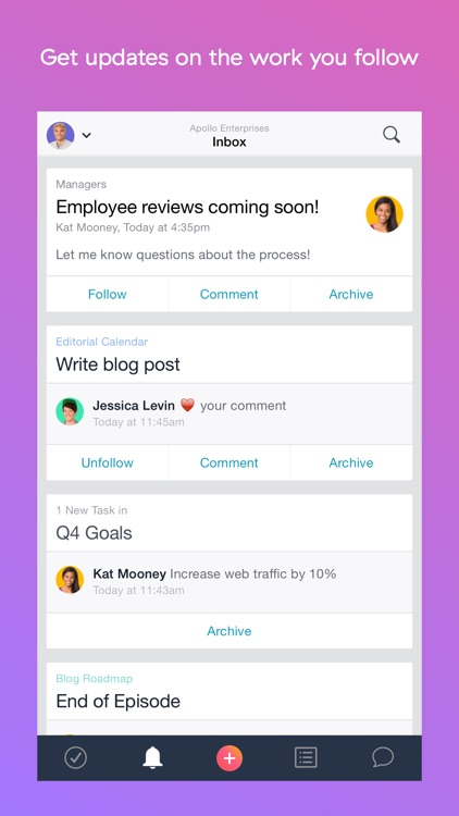 Asana: Team Tasks & Conversations