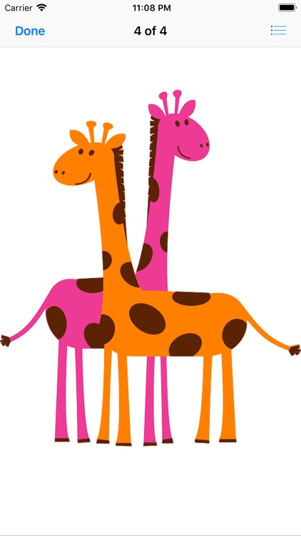Silly Giraffe Sticker Pack screenshot-6