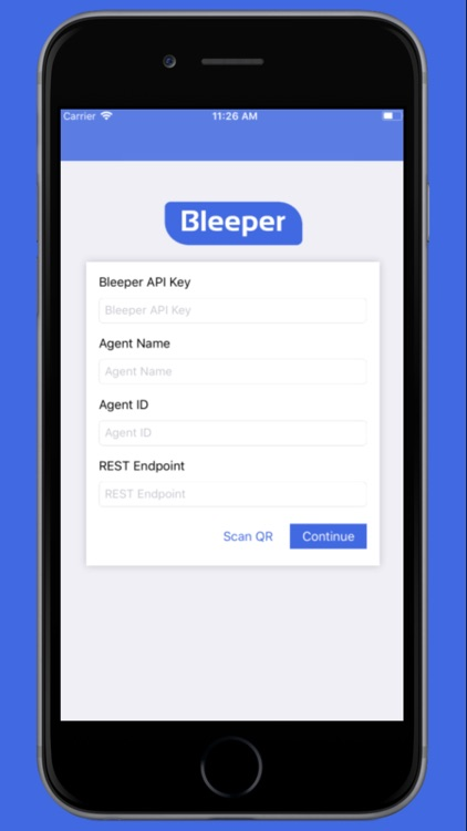 Bleeper App
