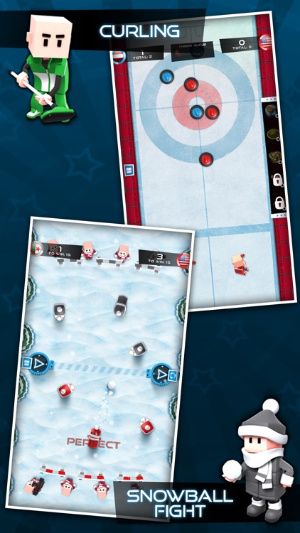 Flick Champions Winter Sports screenshot-2