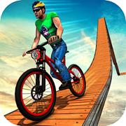自行车游戏:极限特技摩托游戏