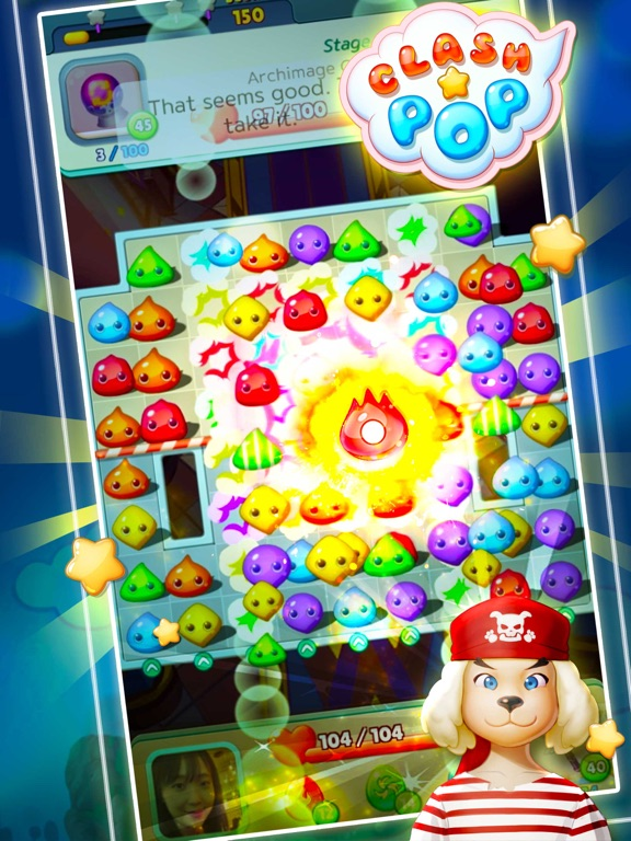 Clash Pop-Creative puzzle game screenshot 8