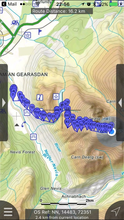 Ben Nevis & Glen Coe Maps screenshot-0