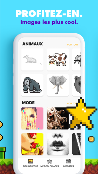 download Coloriage UNICORN : jeux pixel apps 0