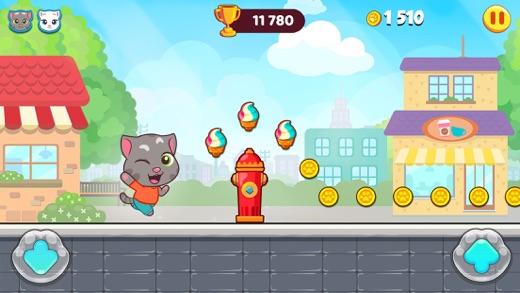 汤姆猫快跑 App 截图
