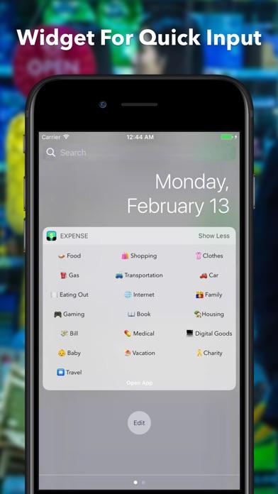 出費ノート (My Expense App) screenshot1