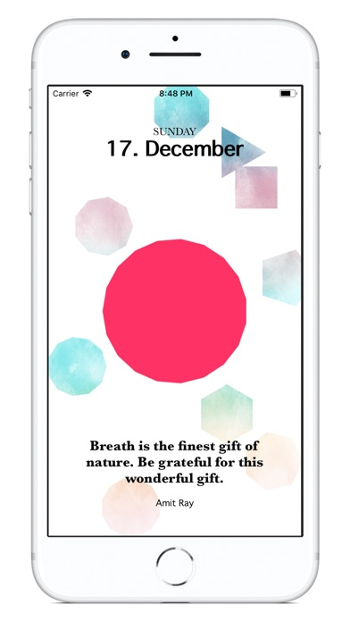 Mindfulness Calendar 2018 screenshot 4