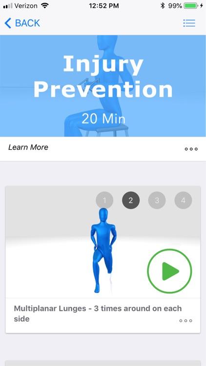 Golf Exercises screenshot-3