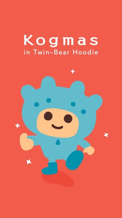 Kogmas in Twin-Bear Hoodie