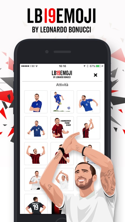 LB19Emoji by Leonardo Bonucci