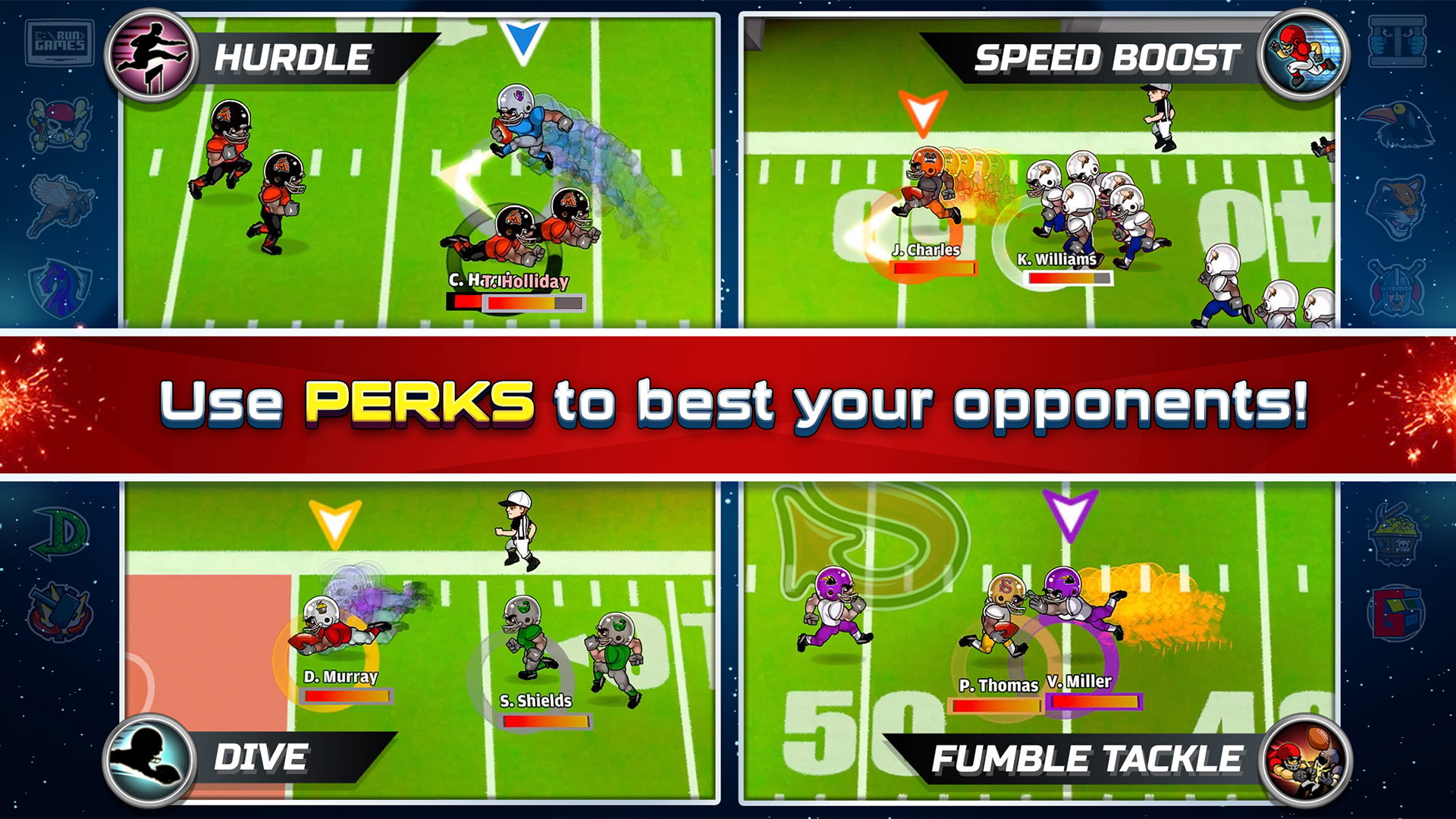 Football Heroes Pro Online - NFL Players Unleashed screenshot 14