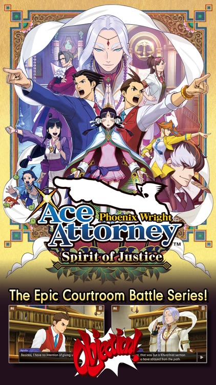 Ace Attorney Spirit of Justice screenshot-0